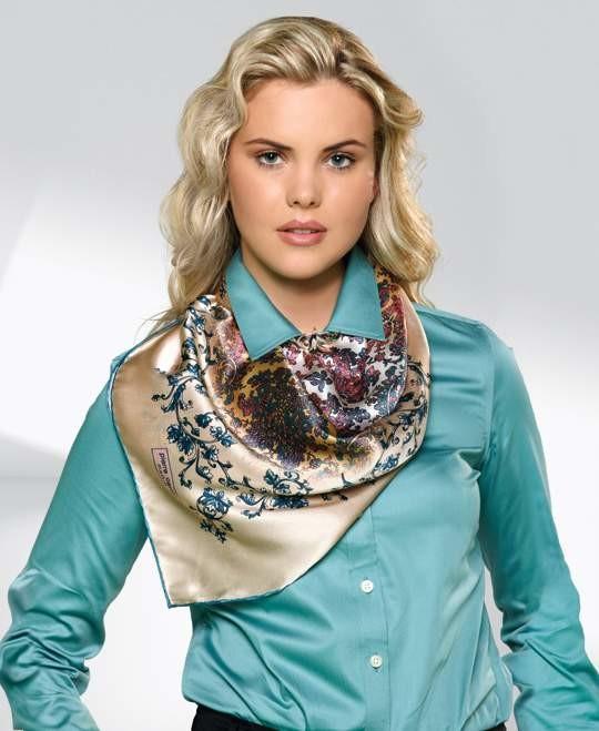 Модный платок на шею