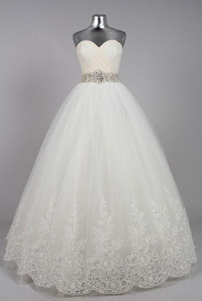 пышные свадебные платья фото белые
