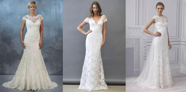 Комментарий: Кружевное свадебное платье - 2013 Многие дизайнеры представили в своих коллекциях полностью
